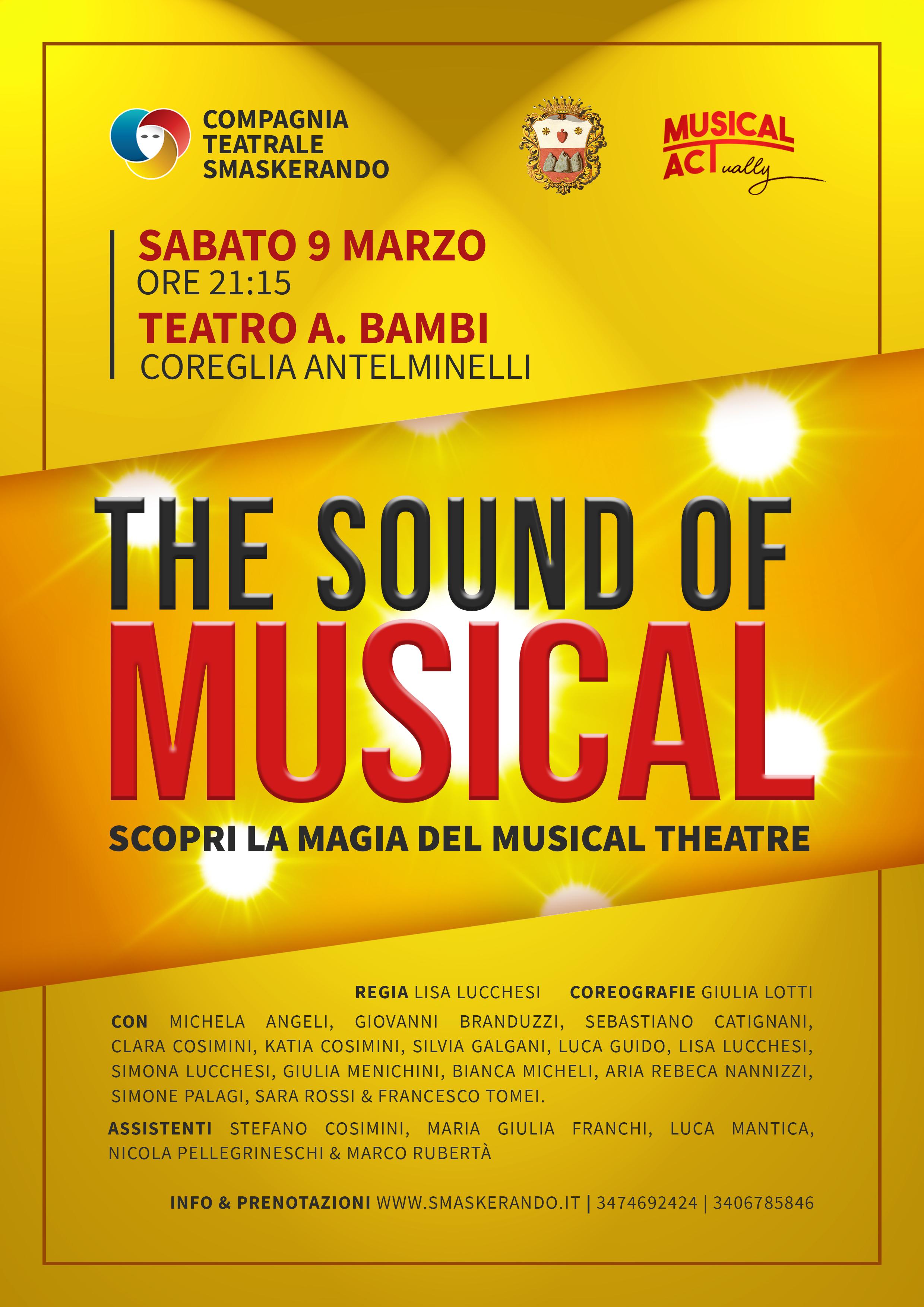 The sound of musical - Coreglia